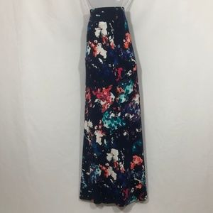 a.n.a  maxi skirt abstract floral print size 2X